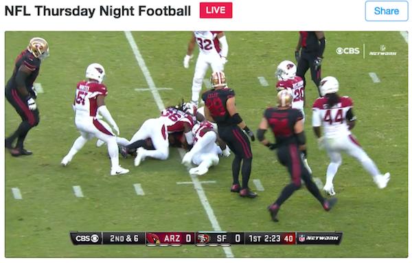 NFL Thursday Night Football Twitter Live Stream