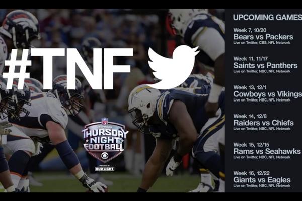 Thursday Night Football on Twitter #TNF